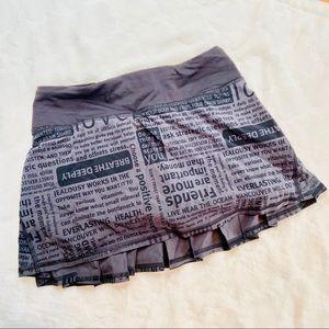 Lululemon Running / Athletic Skirt Size 2
